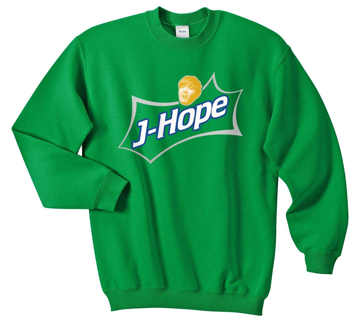 Sanfran Clothing J-Hope Soda Funny Meme K-pop Kpop JHope Love Yourself Jumper Sweater