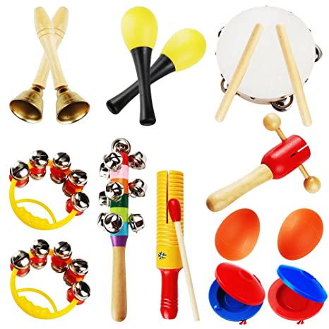 Amazon Com Supow Kids Musical Instruments Set Toddler Musical