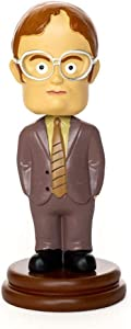 Surreal Entertainment The Office Dwight Schrute Bobblehead Figure | Official The Office Bobblehead Dwight Schrute | The Office Merchandise Dwight Desk Decor Figures | 5.5 Inches Tall