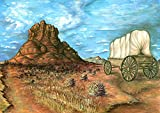 Frame USA Sedona-PETPOT135198 Print 28.25''x40'' by Peter Potter in a Un (Canvas Only)