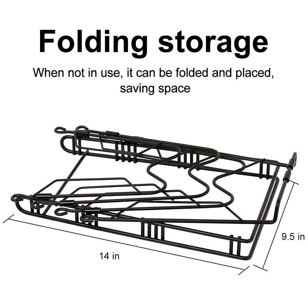 Pans and Pots Rack Lids Holder Detachable Kitchen Cabinet Organizer Stand by jiebolang (Image #3)