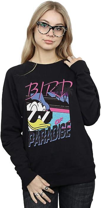 Disney Girls Donald Duck Panicked Hoodie