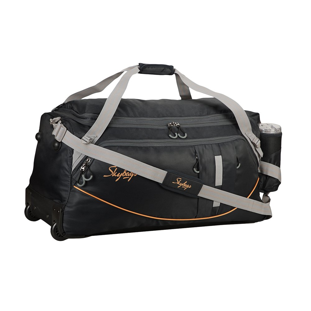 ab2f67adc7f4dc Skybags AER Plus Polyester 34 cms Black Duffle Bags (DFTARP75BLK):  Amazon.in: Bags, Wallets & Luggage