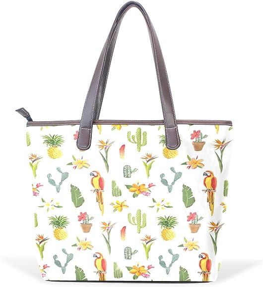 Ye Store Green Spiral Band Lady PU Leather Handbag Tote Bag Shoulder Bag Shopping Bag