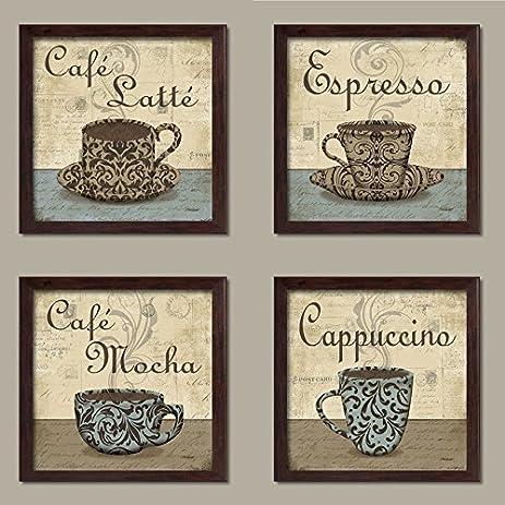 cafe mocha kitchen decor amazoncom lovely vintage espresso cafe latte cafe mocha
