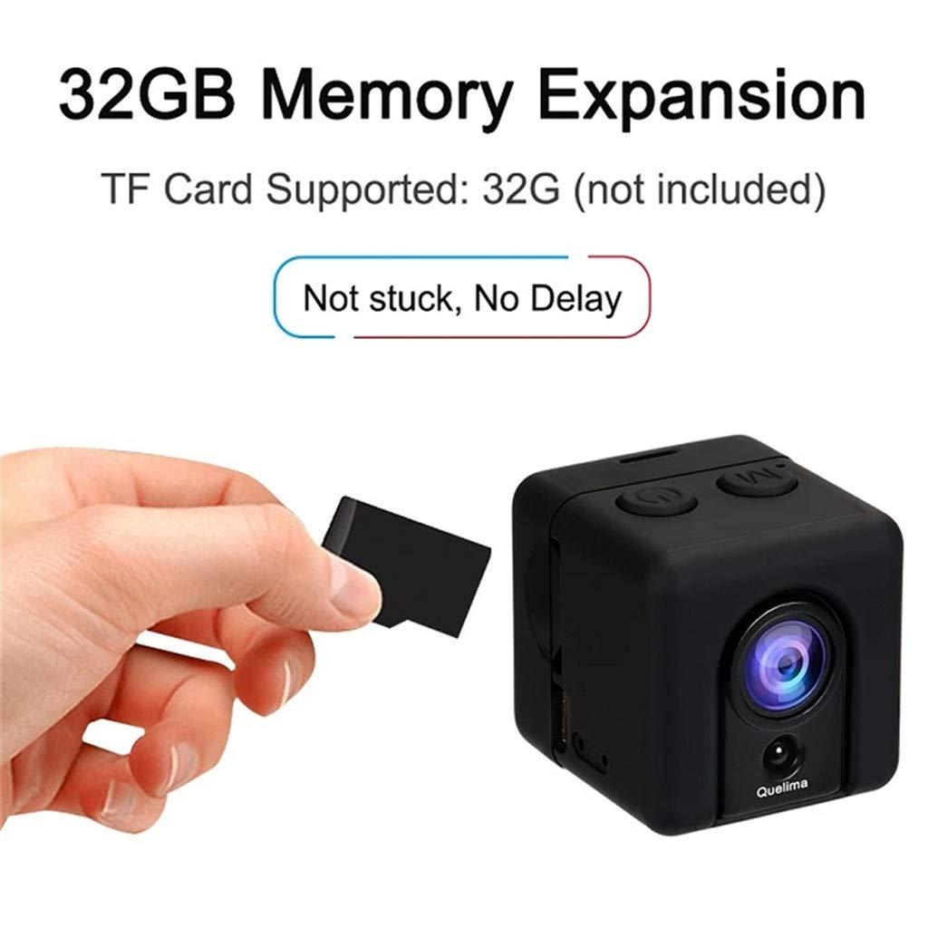 KESOTO Mini Telecamera SQ20 1080P HD Video Recorder FOV 155 Gradi Sport Camera Night Vision Motion Detection Droni Home Office di Sorveglianza