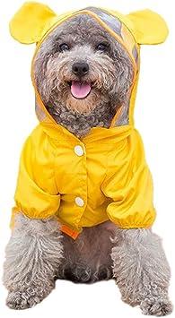 Amazon.com: Ccypet - Chubasquero para perro pequeño ...