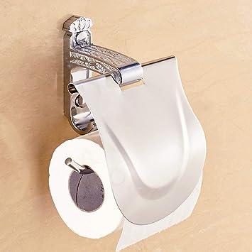 WSJJGAO Dispensador de Papel higiénico Inodoro Rollo de Papel higiénico baño Caja de baño-B: Amazon.es: Deportes y aire libre