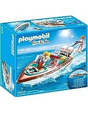 PLAYMOBIL Family Fun Lancha Motora con Motor Submarino