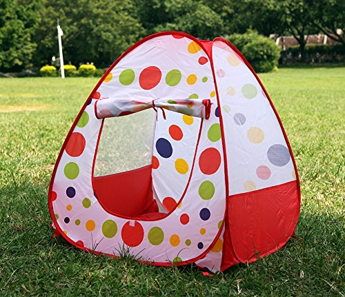New Foldable Baby Infant Kid Child Toddler Outdoor Indoor Pop up Play Tent Playhouse Castle Canopy Beach Garden Grassland Toy for Children Baby Infant Kid Child Puppy Dog