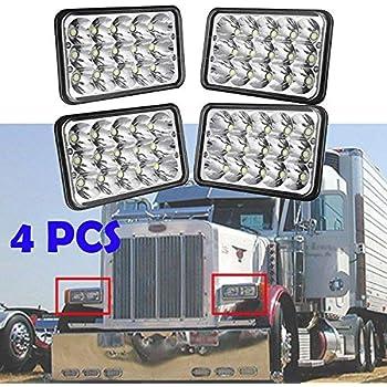 Amazon Com 4x6 Led Headlight For Peterbilt 357 378 379