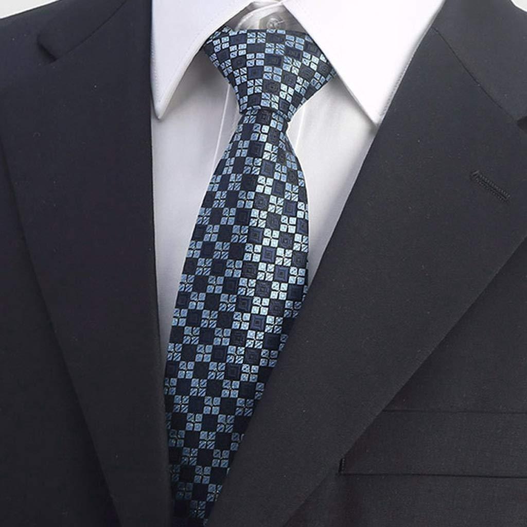 HBJP Corbata/Camisa/Traje de Negocios/Microfibra / 8 cm/Rayas ...