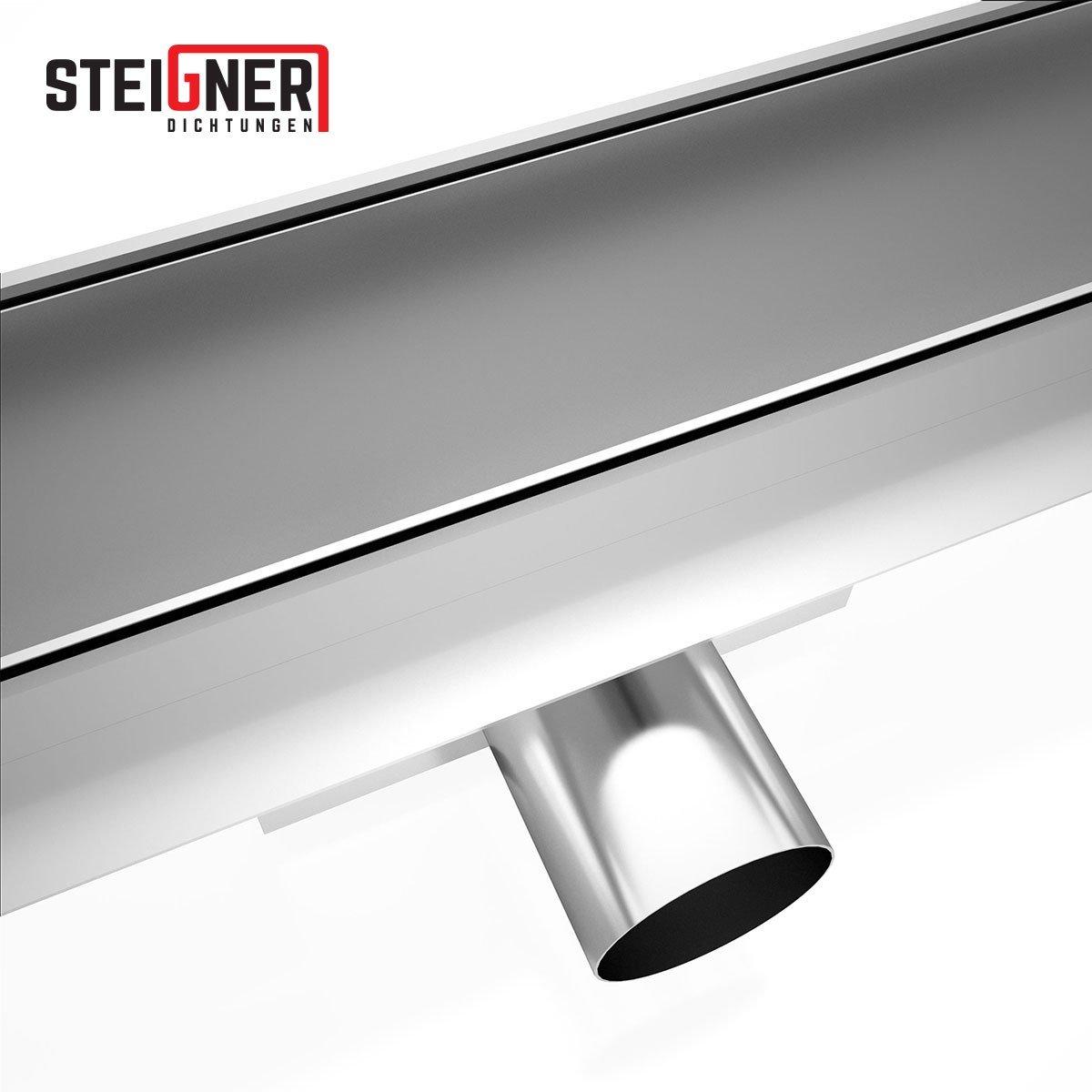 52819070 Steigner Rinne Sifone Canale di scarico doccia in acciaio inossidabile Amsterdam sdr90 1/pezzi 60/cm