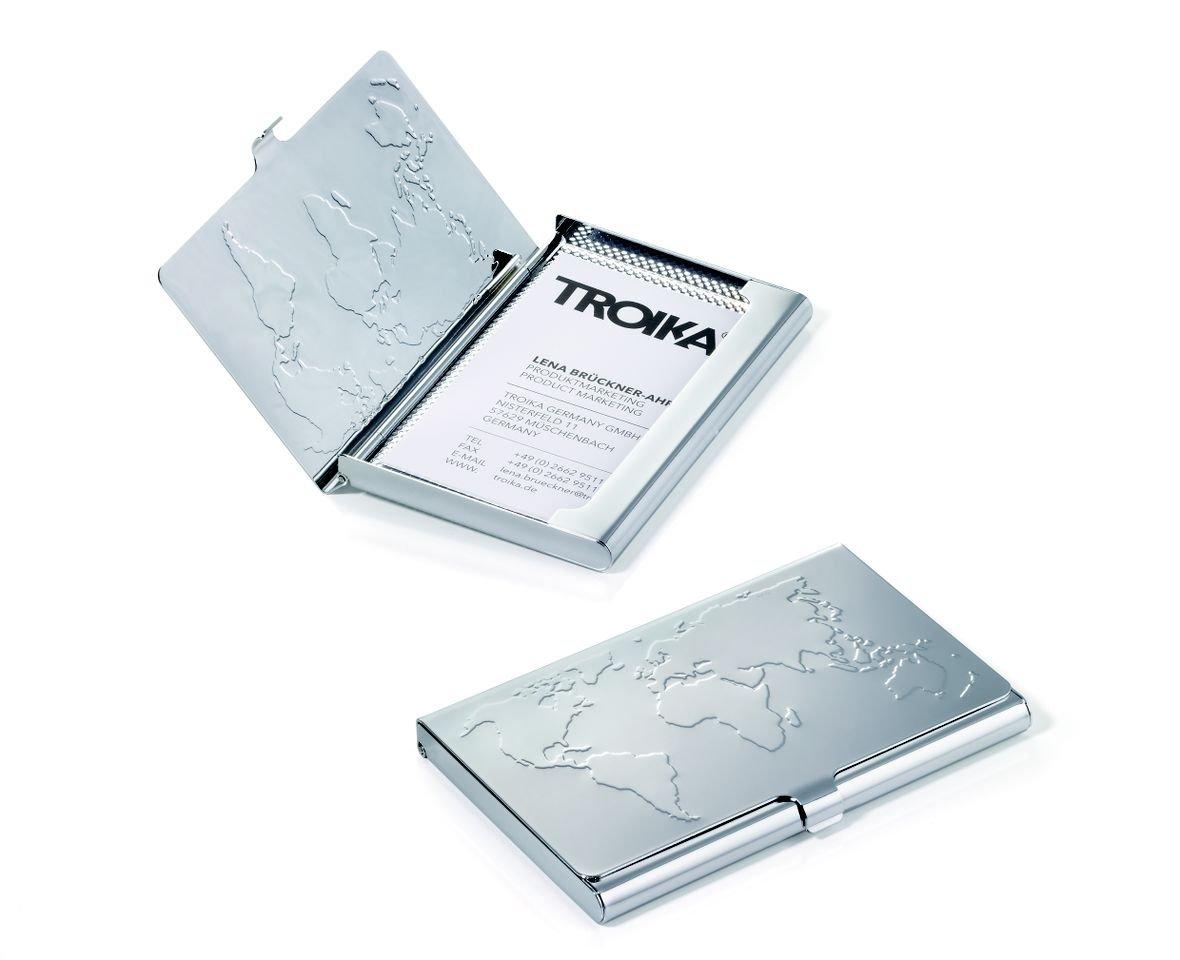 Amazon.com : Troika Business World Business Card Case (CDC75CH ...