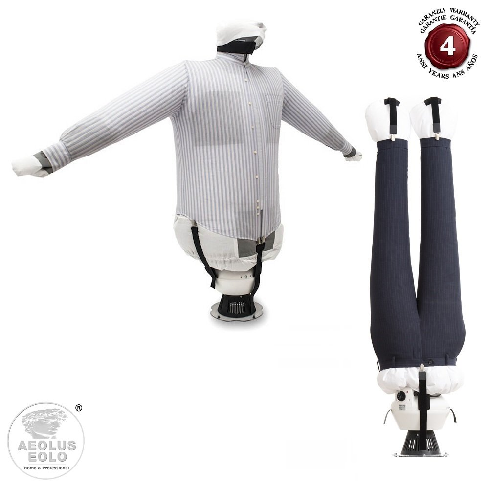 EOLO IronDryer SA04 E To iron and to dry shirts trousers blouses jeans sweatshirts... 230 Volts (before order on demand 110-120 Volts)