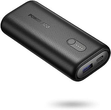 POWERADD EnergyCell II Power Bank 10000mAh PD 18W Cargador Portátil Batería Externa para iPhone,iPad, Samsung,Huawei,Xiaomi, y Otros Dispositivos-Negro: Amazon.es: Electrónica