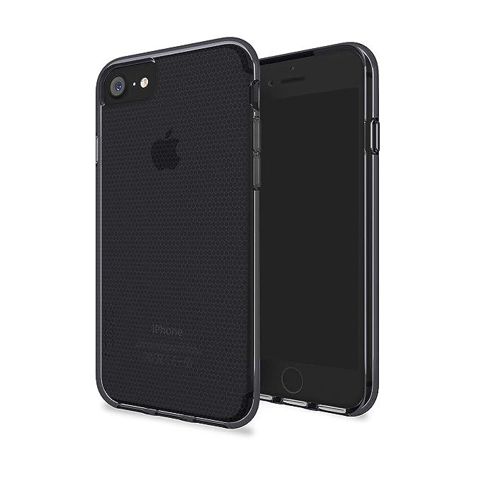 Skech Matrix ShockProof Protective Transparent Case Cover for iPhone 8, iPhone 7, 6s BlackJet Black