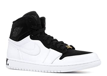 quality design a60ce 50f15 Nike Air Jordan 1 Retro Hi Equality Basketball Shoes (AQ7474-001) (Black