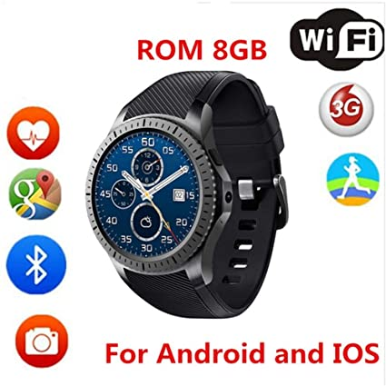 KDSFJIKUYB Smartwatch DM368 3G Smart Watch Android 5.1 GPS ...