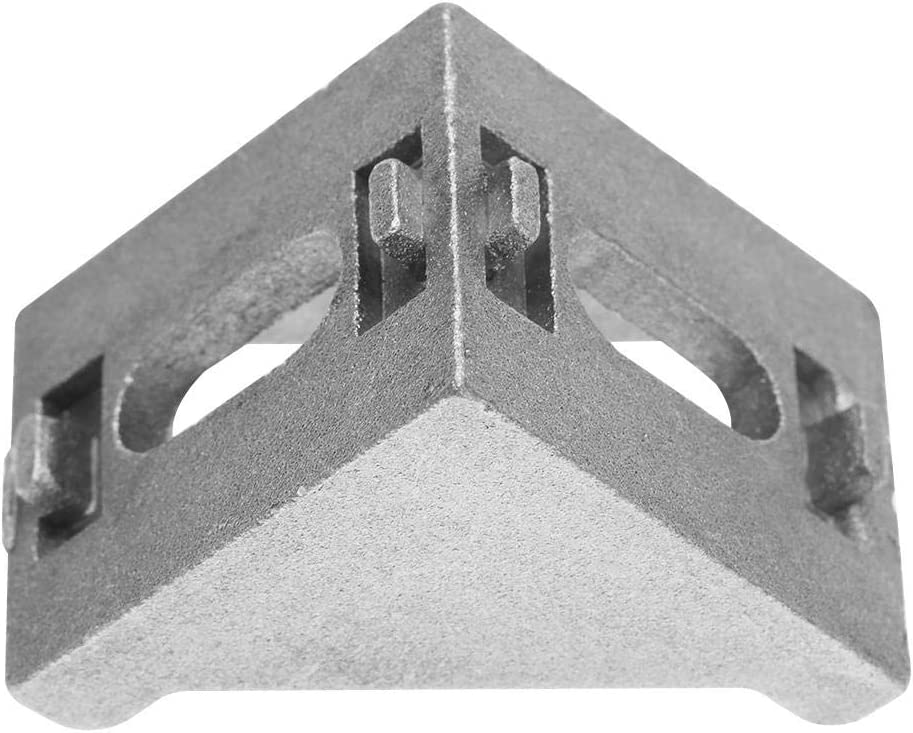 Lot de 25 /équerres dangle en aluminium 4040 en forme de L 90 mm