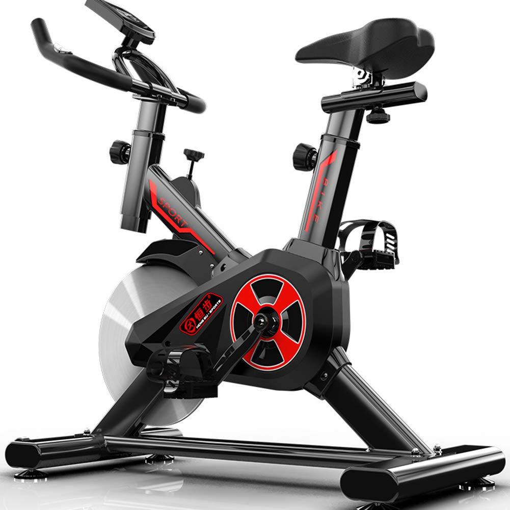 スピニングバイク室内エアロビックエクササイズバイクフィットネスとAbトレーナーFバイクFライダーサイクルフィットネスカーディオワークアウトマシン  black B07MR9B7DS