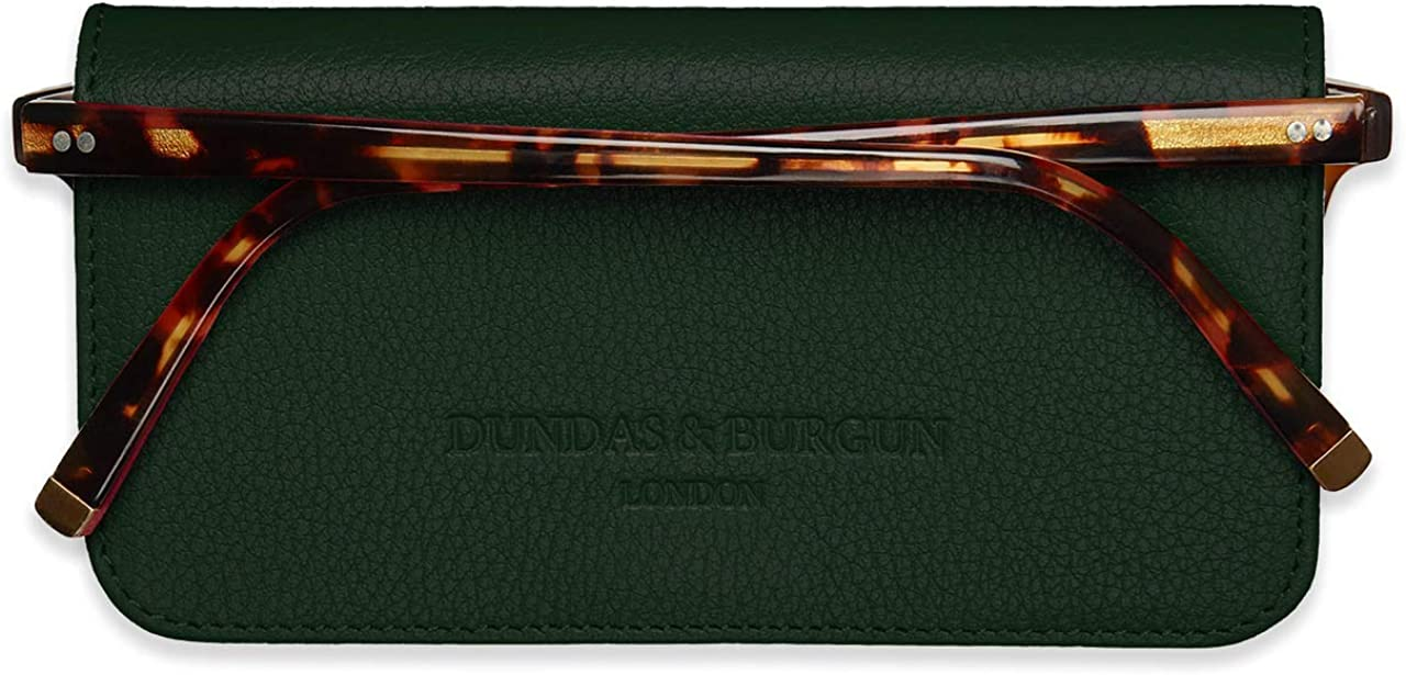 Lensrappa Custodia sottile in pelle per occhiali in 6 colori