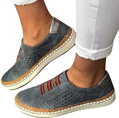 Walking Shoes for Women Slip Ons, No