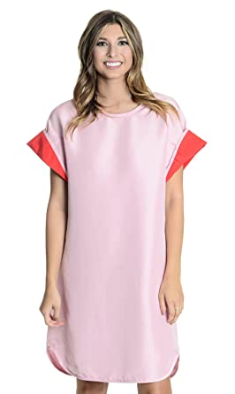 221e9e7c49e6 Image Unavailable. Image not available for. Color: Cynthia Rowley Women's  Cuffed T-Shirt ...