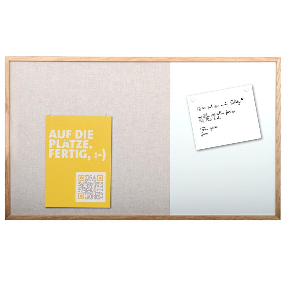 Magnet  Und Pinnwand Im Holz Rahmen   Für Notizen Und Fotos   Im Büro Und  Zuhause: Amazon.de: Bürobedarf U0026 Schreibwaren