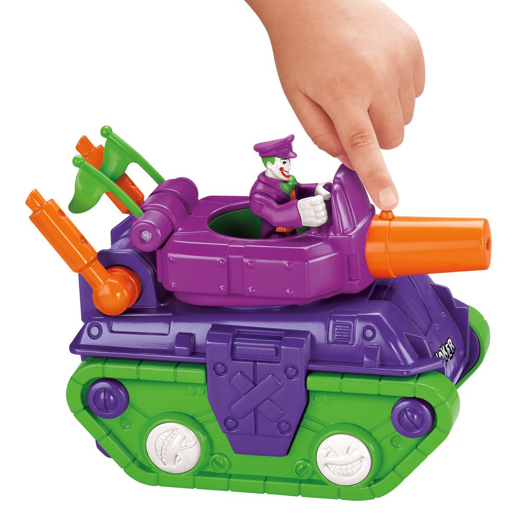 Fisher-Price Imaginext DC Super Friends, Joker Tank by Fisher-Price (Image #3)
