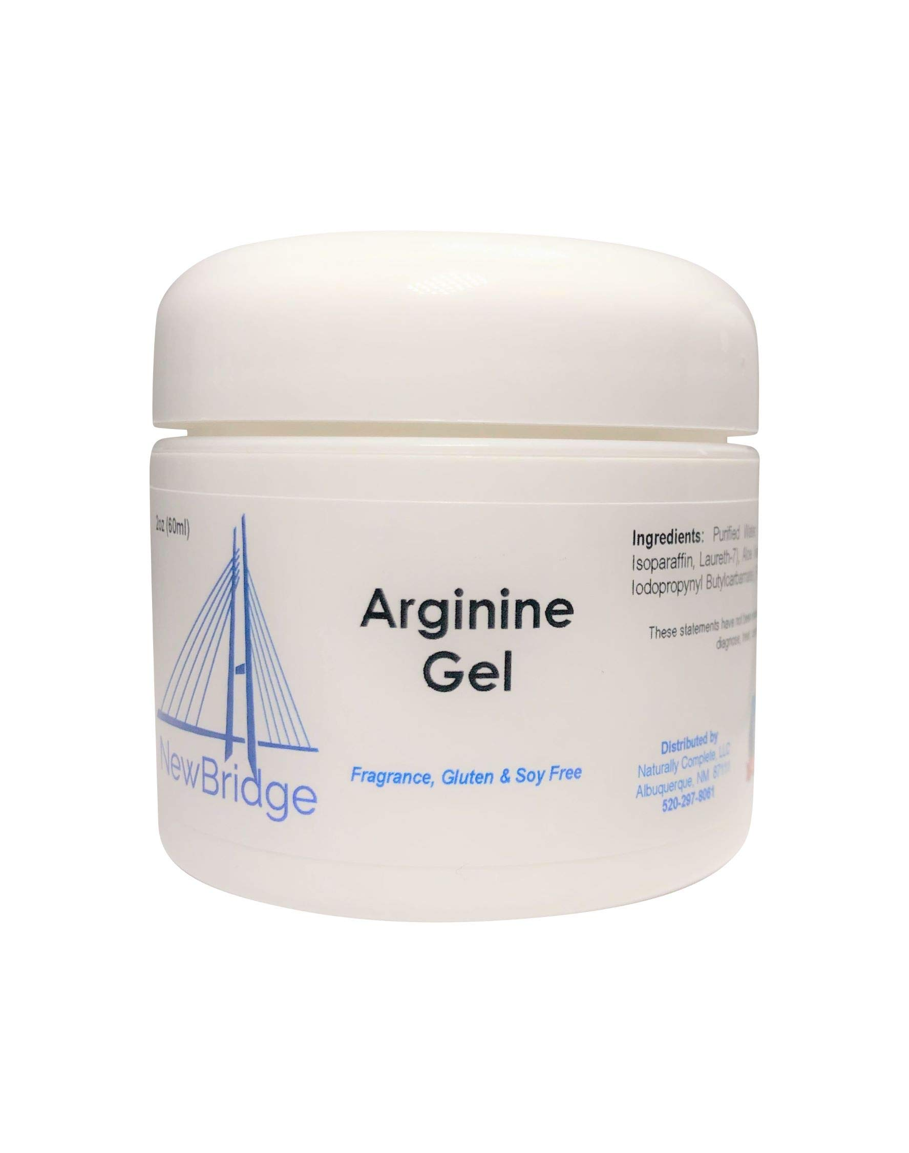 New Bridge L-Arginine 2oz. Jar, Unscented