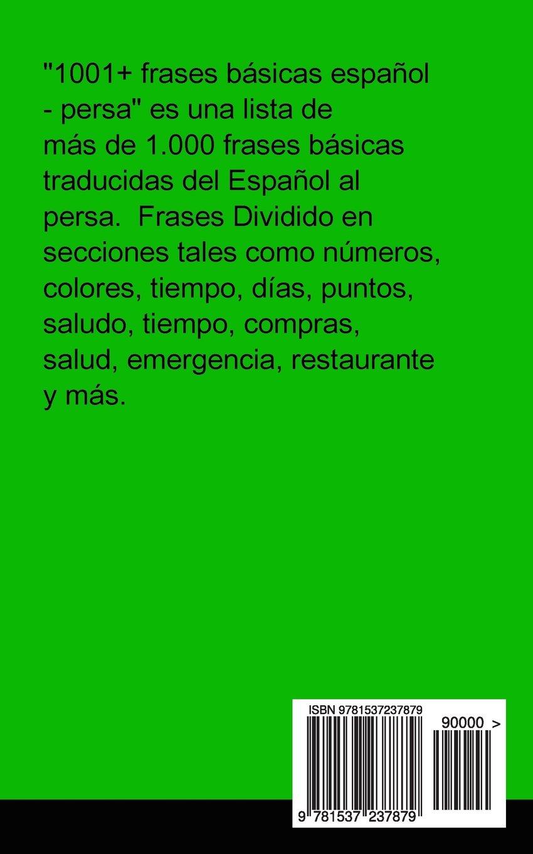 1001 Frases Básicas Español Persa Spanish Edition