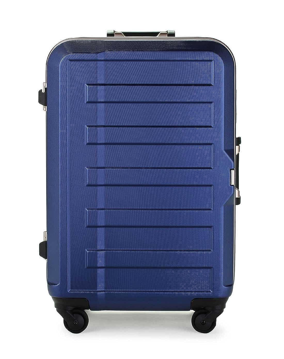 [レジェンドウォーカー] ポリカーボネート シボ加工 スーツケース 85L 74 cm 5.2kg 5088-68 B00O1M2YK2 ネイビー