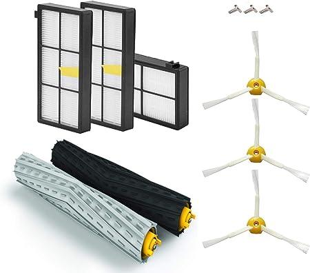 AplusTech Kit Recambios Compatible con iRobot Roomba Serie 800 805 850 860 865 866 870 871 880 886 890 891 895 896 900 960 965 966 980 - Pack de 11 PCS.: Amazon.es: Hogar
