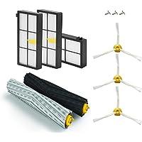 AplusTech Kit Recambios Compatible con iRobot Roomba Serie 800 805 850 860 865 866 870 871 880 886 890 891 895 896 900 960 965 966 980 - Pack de 11 PCS.