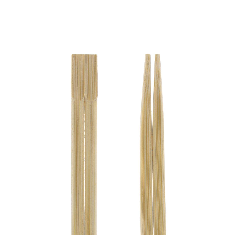23 cm Collegate nella Parte Superiore Imbustate e Separate Sacco da 100 Royal Bacchette Usa e Getta in Bamboo Premium Trattate agli UV