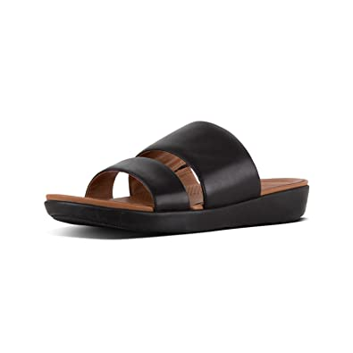 4fea51cd1e Amazon.com | FitFlop Women's Delta Slide Flat Sandal | Slides