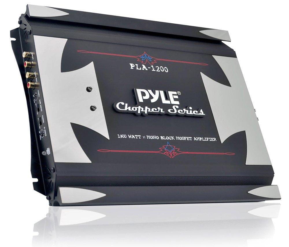 Pyle PLA1200 - Amplificador de subwoofer para coche (1900 W ...