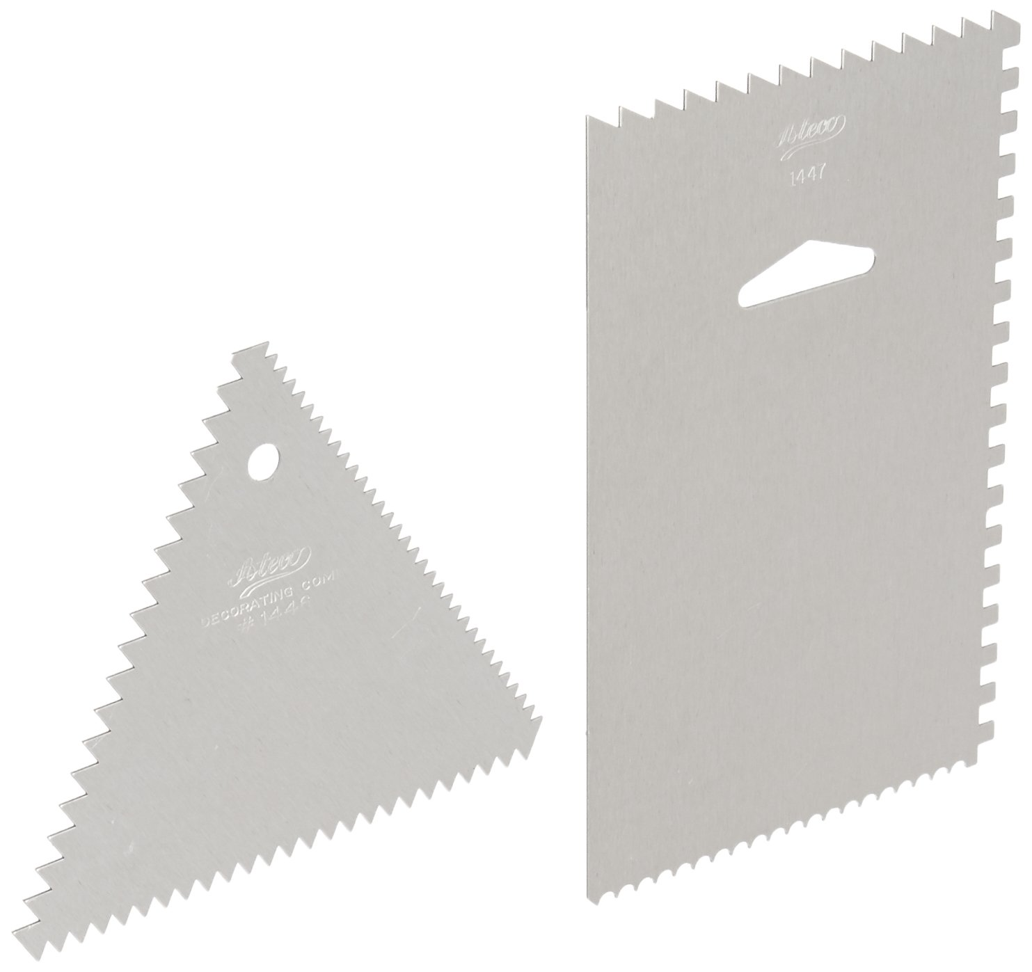 Ateco Decorating Comb and Icing Smoother Oasis Supply AT 1446/&1447