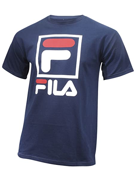 940ea83dd019 Fila Men s Stacked T-Shirt  Amazon.ca  Clothing   Accessories