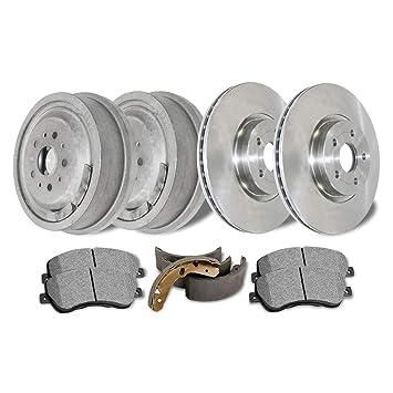 Shoes For 1999 Grand Vitara Disc Brake Rotors Ceramic Pads /& Brake Drums