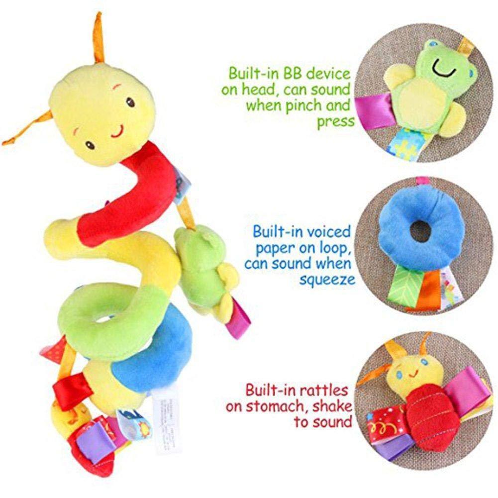 Cuna a Bebe,,Juguetes para Beb/és y Primera Infancia,Colgantes para Cochecitos WopenJucy Juguete Colgantes Espiral del Animales para Cochecito,Cama