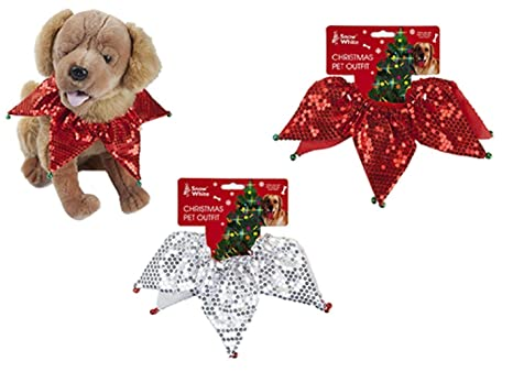 Toyland Traje de Mascotas de Navidad Elf Collar Adecuado para Gatos y Perros - Vestido de
