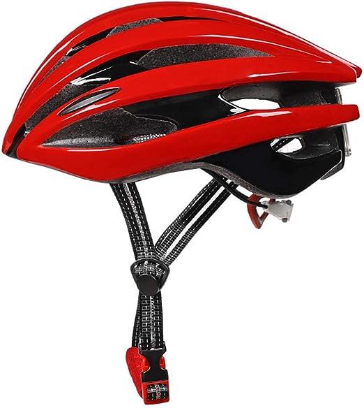 Casco Bicicleta Adulto, Casco De Bicicleta De Montaña con Forro De ...