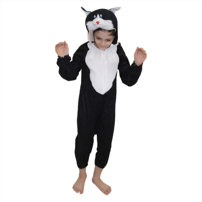 Baby Halloween Costumes Animals.Buy Kaku Fancy Dresses Baby Boy S And Baby Girl S Fleece Animal Costume Black 3 4 Years Online At Low Prices In India Amazon In