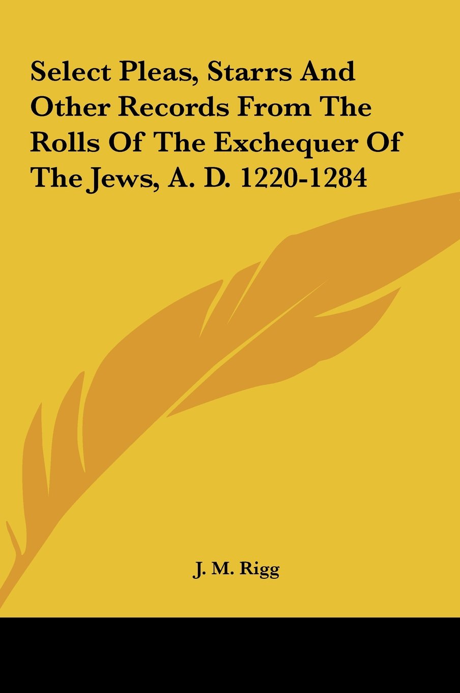 Select Pleas, Starrs And Other Records From The Rolls Of The Exchequer Of The Jews, A. D. 1220-1284 ebook