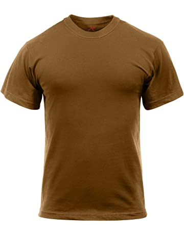 3534188c112 Rothco T-Shirt - Poly Cotton Brown