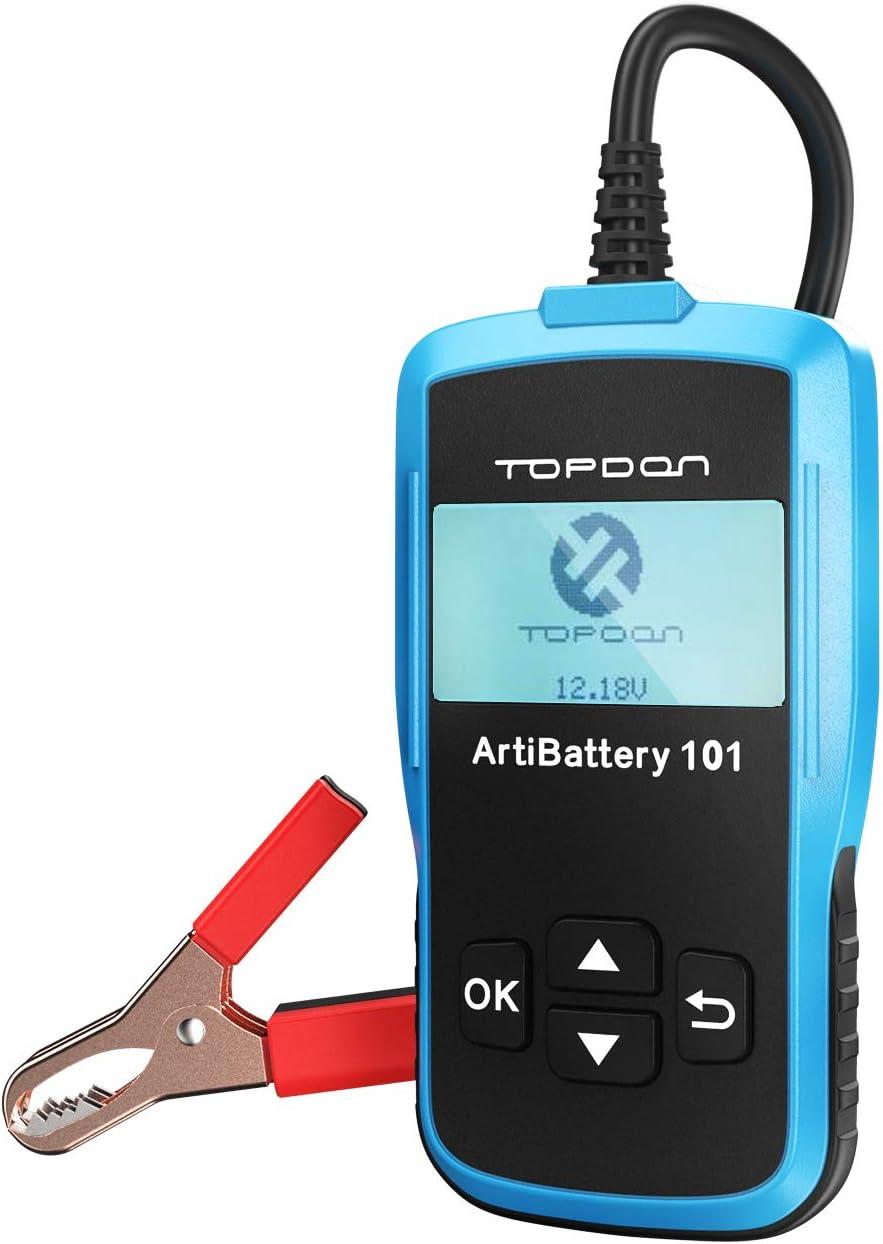 TT Topdon Car Battery Tester