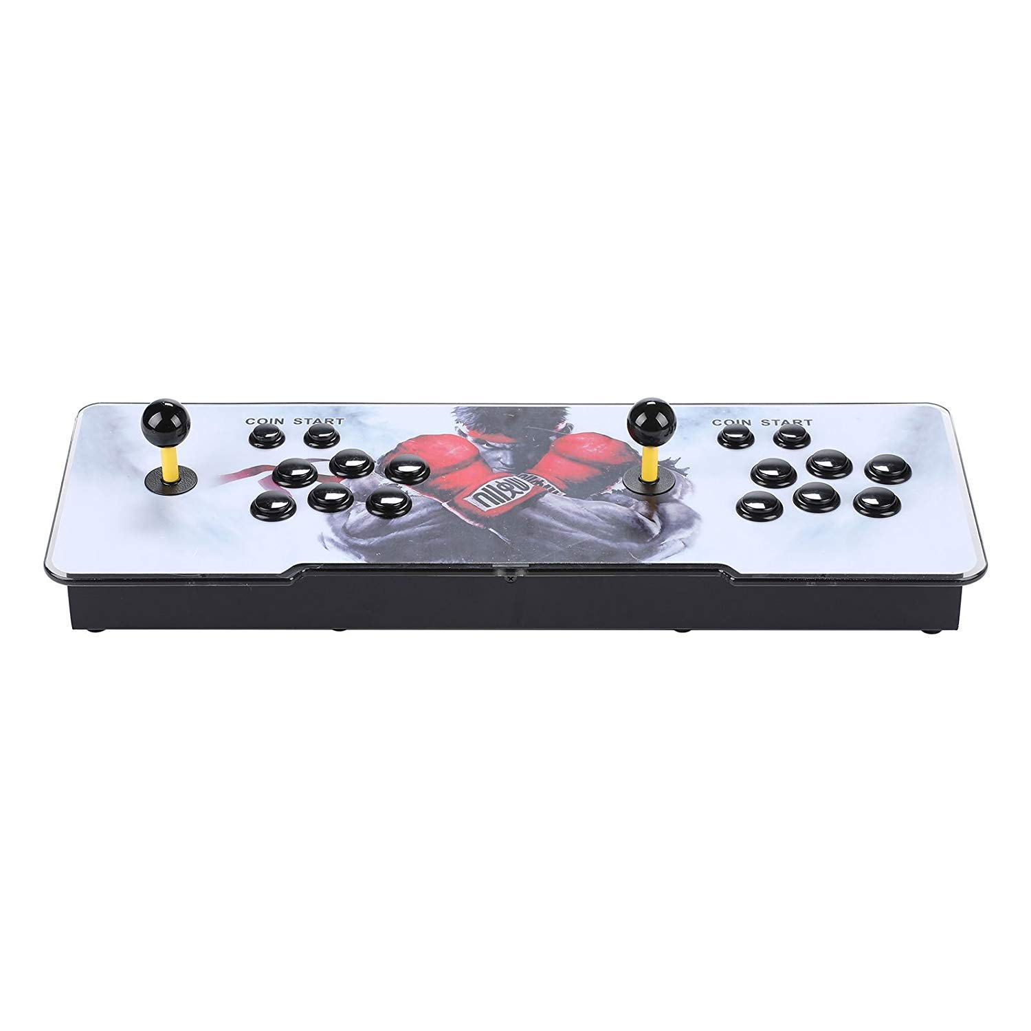 Happybuy Real Pandora's Box 6 Arcade Game Console HD Retro 3D Pandora's Key 7 Arcade Video Game 1500 in 1 Arcade Console with Arcade Joystick Support Expand Games for PC / Laptop / TV / PS4 by Happybuy (Image #7)