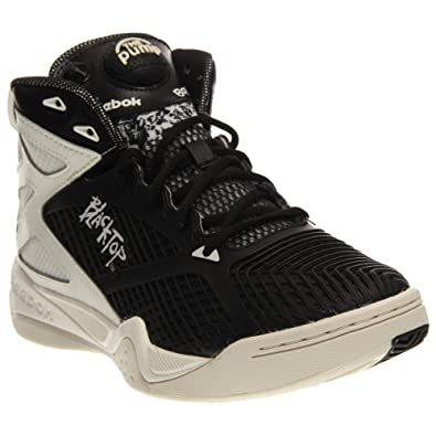 f923efeb9c11 Reebok Blacktop Retaliate Mens Basketball Shoe Black-Chalk 8.5 D(M) US  Buy  Online at Low Prices in India - Amazon.in